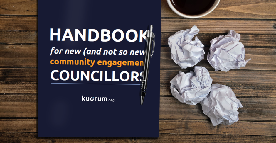 Handbook for new community engagement councillors